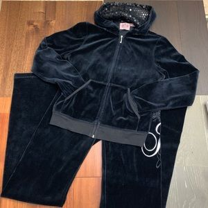 Juicy Couture Sweatsuit. Sweatpants and Hoodie
